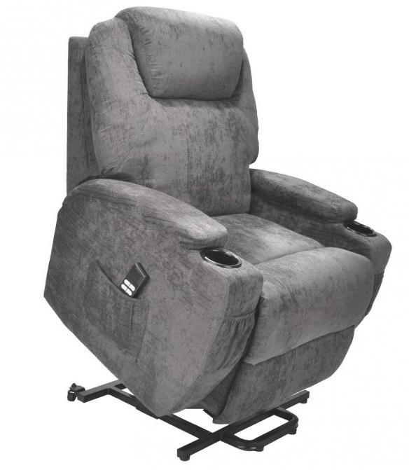 Electric Lift Chair with cup holders