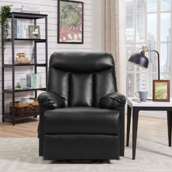 Electric Lift Chair with cushioned armrests, heat and massage