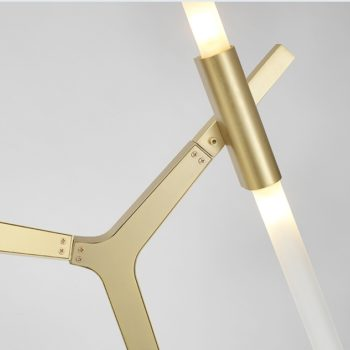 Golden LED light Chandelier Nordic Style | Home Decor